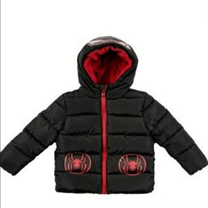 Marvel Spiderman Character Jacket